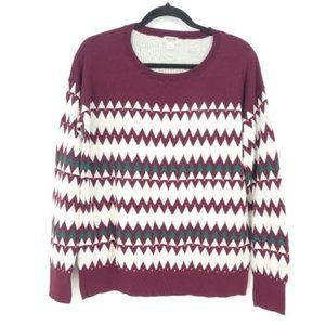 Mossimo Supply Fair Isle Pullover Sweater